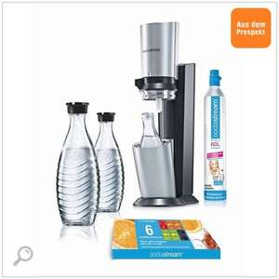 [bedingt lokal]SodaStream Wassersprudler Crystal Vorteilspack mit 3 Karaffen @verschiedene OBI Filialen