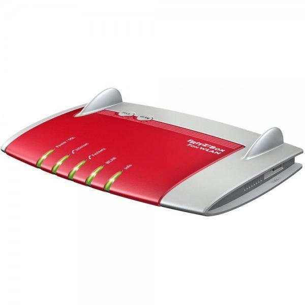 AVM FRITZ!?Box 7330 WLAN Router (ADSL, 300 Mbit/?s, DECT-Basis, Media Server) für 77€ bei eBay