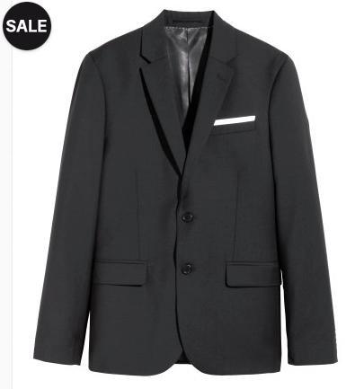 [H&M] Monster-Midseason-Sale mit bis zu 50% Rabatt auf viele Produkte, oder: heute 20% auf ausgewählte Basics, z.B. Jacket aus Wolle für 59,90€ statt 133,90€