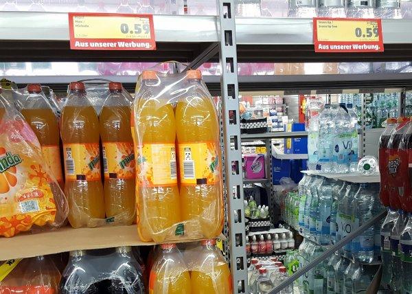 (Penny) 7up, Pepsi, Mirinda für 0.59€/1.5L