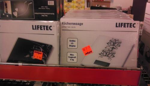 Medion Haushalts-Digitalwaage Lifetec MD 13639 für 2,75€ [lokal]