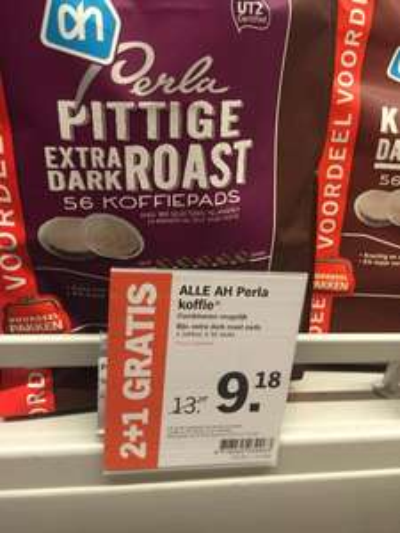 [Grenzgänger] Albert Heijn Perla Kaffeepads 33% Ersparnis (5,4 cent/Pad)