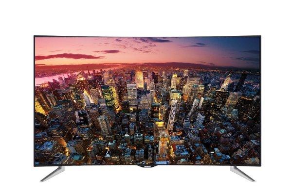 [Amazon Blitzangebot] Panasonic TX-55CRW454 139 cm (55 Zoll) Curved Fernseher (Ultra HD, Triple Tuner, Smart TV)