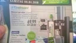 [Marktkauf Lemgo/Bielefeld /Lage] Sodastream Crystal 69,99€  07-9.04.