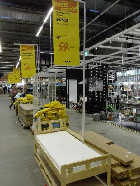 IKEA Bielefeld: KRITTER Junior Bett 59,- anstatt 79,- bzw. 89,-