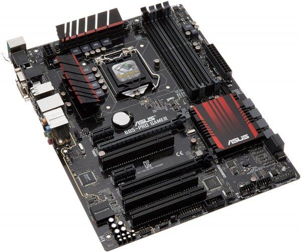 [amazon.it] Asus B85-Pro Gamer Gaming Mainboard Sockel 1150 (ATX Intel B85, 4x DDR3 Speicher, 2x SATA II, 1x USB 3.0, 4x USB 2.0)