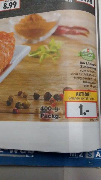 [Kaufland bundesweit] Hackfleisch Zubereitung 400g für 1€