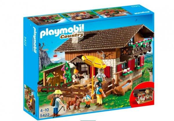 [Galeria Kaufhof] Playmobil Almhütte 5422 für 22,49€ bei Filialabholung statt 40€ und Playmobil Super Set Indianerlager 4012 für 10,79€ bei Filialabholung statt 18€
