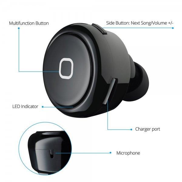 Amazon: Mini Bluetooth 4.0 Headset für 11,99€ mit Prime