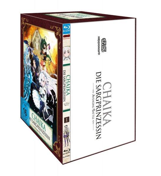 (Anime/Prime) Chaika, die Sargprinzessin Vol. 1, Staffel 2 + Sammelschuber für 17,97 €