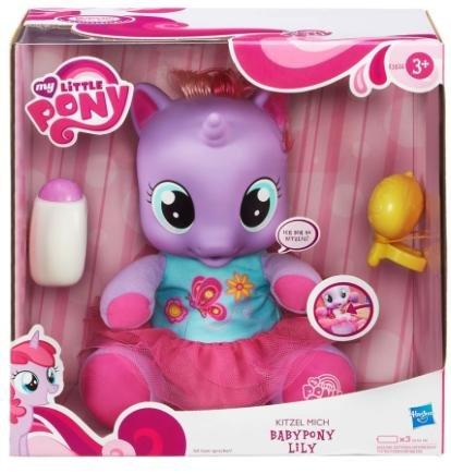 [babymarkt.de] HASBRO My Little Pony Kitzel-Mich Babypony Lily für 25,10€ inkl. VSK statt 40€