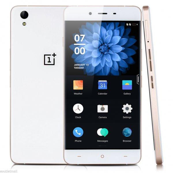 Ebay - ONEPLUS X 3G 4G LTE Android 5.1 3GB RAM 16GB ROM in weiss für 229,99€ - Preisvorschlag möglich! -