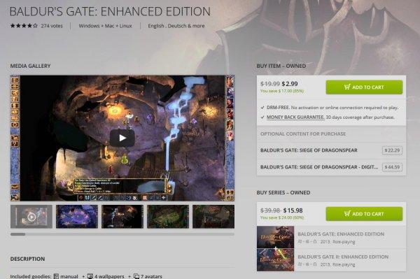 [gog.com] BALDUR'S GATE I & II: ENHANCED EDITION & Icewind Dale Enhanced für $2,99