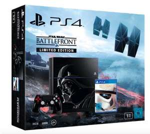 PlayStation 4 1TB - Star Wars: Battlefront - Limited Edition für 384€ bei Saturn.de