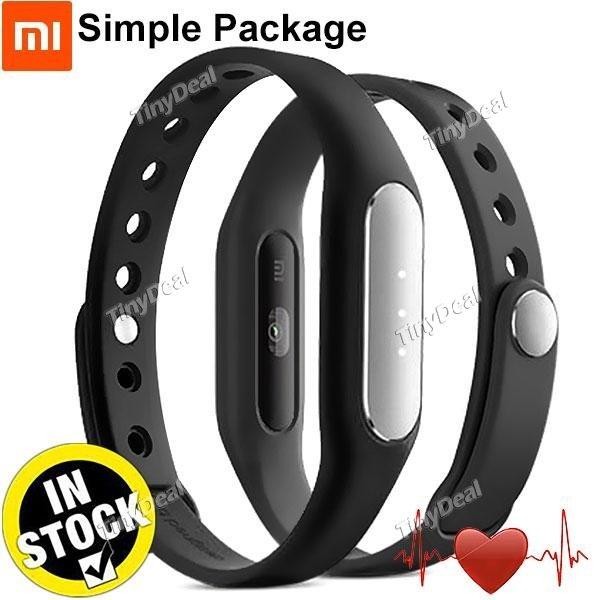 Xiaomi MiBand 1S Smart Armband Herzfrequenz Monitor Schlaf Monitor Anruf SMS Erinnerung E-500090