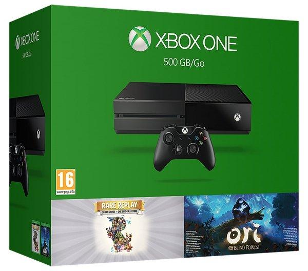 Xbox One 500GB mit Ori und Rare Replay für 216€ [Amazon UK WHD]