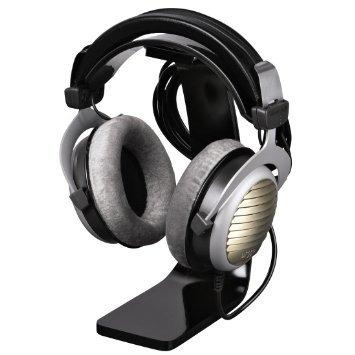Hama Kopfhörer-Ständer mit Kabelhalterung 23cm Höhe, schwarz / 12,57 EUR @AmazonPrime
