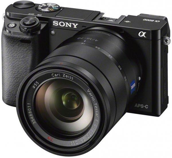 Lokal Saturn Köln Hohe Straße - Sony Alpha 6000 L Kit 16-50 MM + Tasche + 16 GB SD Karte Systemkamera
