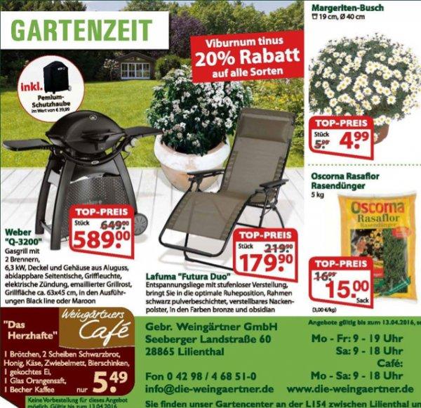 Weber Q3200 über Bauhaus Tiefpreisgarantie