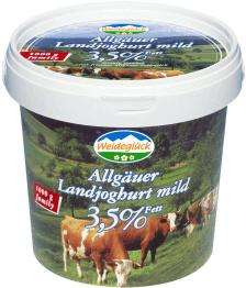 1kg-Eimer Weideglück Joghurt @Edeka