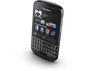 "BlackBerry Q10, Smartphone, 4G LTE, 16 GB, 3,1"" 720 x 720 Pixel Super AMOLED, 8 MPix, BlackBerry OS, Schwarz, B-Ware für 74,95€ @Allyouneed"