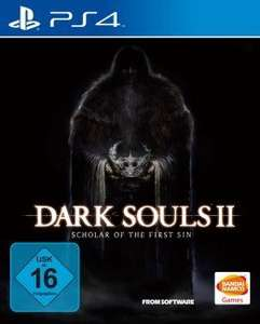 [Saturn] [Vorbestellung] Dark Souls 2: Scholar of the First Sin (neue Version) (PS4) + 5€-Füllartikel für 24,99€ versandkostenfrei