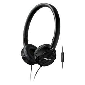 Philips FS3MBK On-Ear Kopfhörer mit Mic. für 12,77€