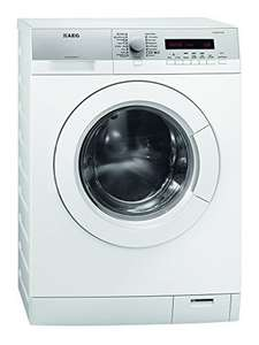 AEG Waschmaschine ( L76485FL) für 469 € inkl. Lieferung ins Bad - 8 kg ProTex Trommel, großes LC-Display, Silence-Motor (10 Jahre Motorgarantie), Dampfprogramme, Waschen/Schleudern 51/75 db(A), EEK A+++ [Computeruniverse]