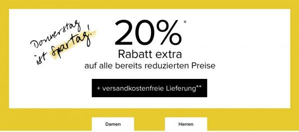 20% Rabatt bei Dress-For-Less + 10% Newsletter (=28% Rabatt) + keine Versandkosten| nur heute gültig + 6% qipu