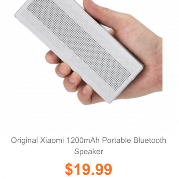 Xiaomi Square Box Lautsprecher für 17,57 bei Banggood