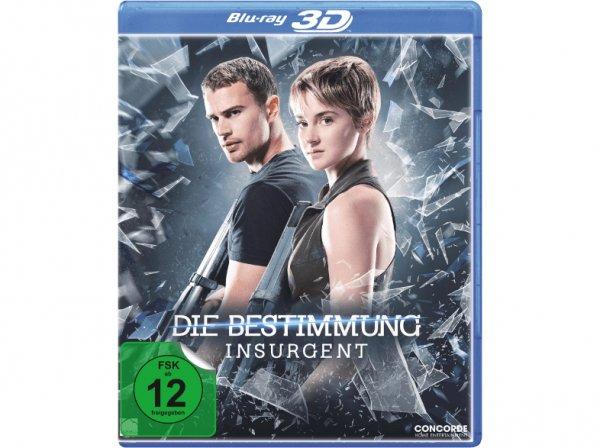 [Saturn.de] Die Bestimmung - Insurgent (3D &2D Blu-Ray) versandkostenfrei für 6,99€