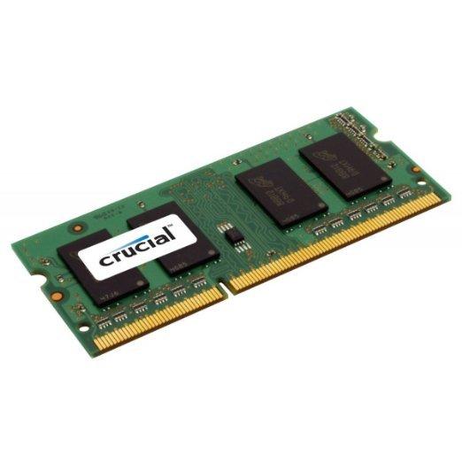 Crucial Notebook-Arbeitsspeicher 8GB (PC3-12800, DDR3L-RAM, bis zu 1600MHz) bei Amazon (Prime)