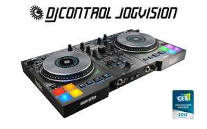 Hercules DJControl Jogvision USB DJ Controller mit Air Control für 252,24€ bei Amazon.co.uk