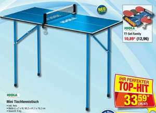 [Metro] Joola Tischtennis Mini-Tisch