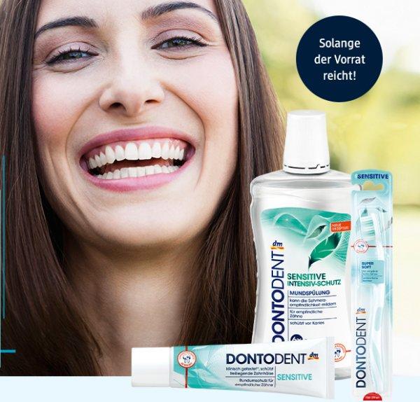 Gratis Zahnpflege Paket von DM - online