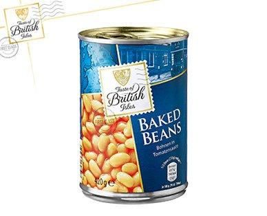 Aldi-Süd ab 14.4.16: Baked Beans (420 Gramm Dose für 0,49 €)
