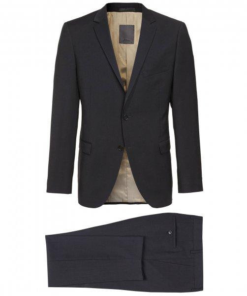 Herren-Anzug schwarz sOliver Premium [engelhorn.de]