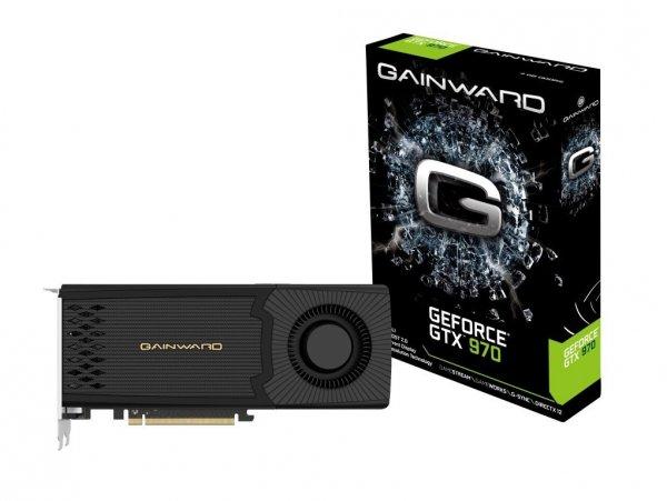 [Amazon] Gainward NVIDIA GTX970 Grafikkarte (PCI-e, 4GB GDDR5 DVI, HDMI, 2x mini DisplayPort)