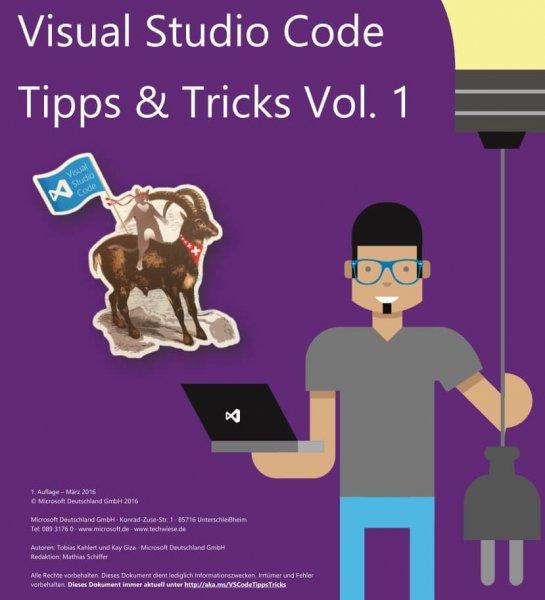 Visual Studio Code - Tipps und Tricks Vol. 1 - Kostenloses eBook