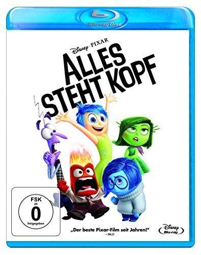 Alles steht Kopf Blu-Ray für 11,89 € @ Metro (14.04. - 27.04.)