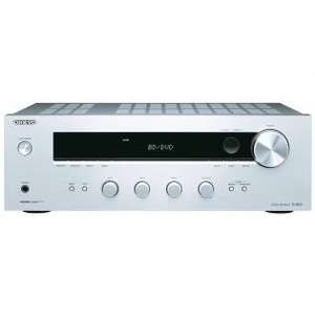 (redcoon.de) Onkyo TX-8020 (S) Stereo-Receiver (90 Watt, Direktmodus, 3-Digital/5-Analogeingänge, Phono, RDS UKW/MW-Tuner) silber // B-WARE