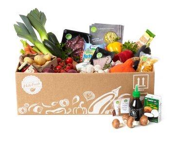 Kochen: HelloFresh Box geschenkt (Wert: 39,99 €), nur heute bis 21 Uhr