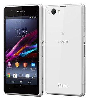 (Amazon WHD) Sony Xperia Z1 Compact weiß gebraucht staub- und spritzwassergeschützt Android 5.1.1 4,3 Zoll Touch Display 2 GB RAM 20,7 MP Kamera