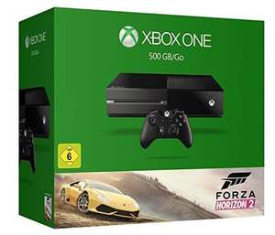 Microsoft Xbox One 500GB mit Forza Horizon 2 für 239€ (neuesModell) @ eBay Media Markt