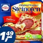 Wagner Steinofen Pizza und Flammkuchen für nur 1,49 € bei [Real]