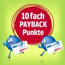 [Real] 10fach Payback Punkte für einen Einkauf am Mittwoch, 13.04.2016 (Papier- oder e-Coupon)