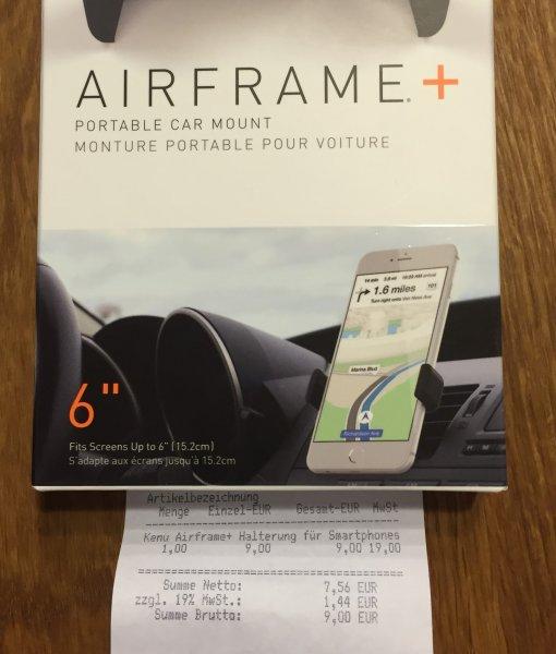 [Mobilcom Debitel Filiale] Kenu Airframe+ Smartphonehalterung KFZ