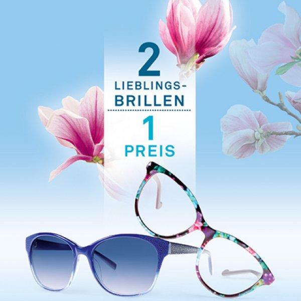 Neusehland Eine Brille kaufen zweites paar Gläser gratis