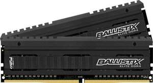 [Amazon.co.uk] Crucial Ballistix Elite DDR4 RAM Kit 16GB (2 x 8GB) 2666 MHz / PC4-21300 CL16 288 Pin DIMM für 68,91 €