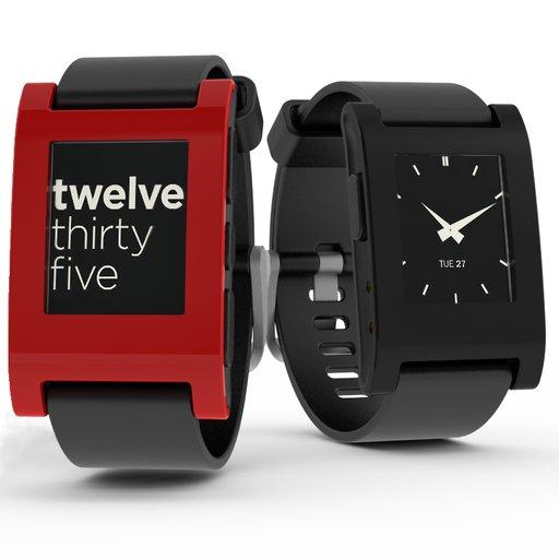 Pebble Smart Watch rot, schwarz, weiß inkl. Vsk für ~ 66,42 € > [amazon.uk]